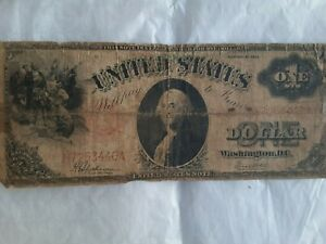 UNITED STATES ONE DOLLAR PAPER NOTE SERIES 1912