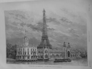 1889 I Exhibition Universal Palace Products Food Bottom Tour Eiffel