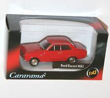 Cararama - FORD ESCORT MkI (Red) Model Scale 1:43