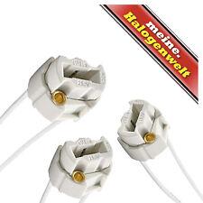 3x Fassung G9 230V   Sockel für Halogen-Leuchtmittel Halogen-Strahler LED-Lampe