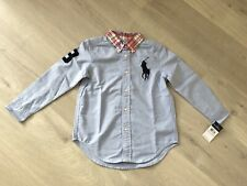 [BNWT] Ralph Lauren Big Pony Cotton Oxford shirt Boy Size 5