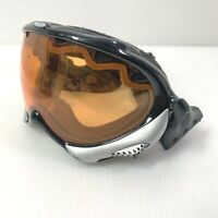 OAKLEY WISDOM Polished Black with Persimmon Snow Snowboard Goggle