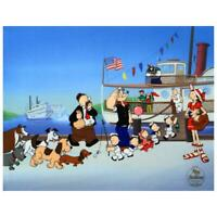 Popeye Limited Edition Sericel Collectible Animation Art COA
