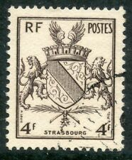 STAMP // TIMBRE FRANCE OBLITERE N° 735 ARMOIRIE STRASBOURG