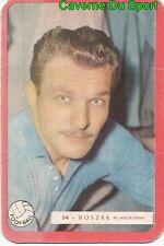 054 ALEXANDRE ROSZAK OLYMPIQUE NIMES FOOTBALL CARTE MIROIR SPRINT 1960's RARE