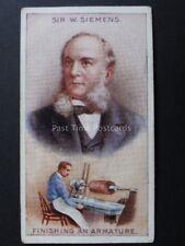 No.7 SIR WILLIAM SIEMENS Inventors & their Inventions (1-20) R.& J.Hill Ltd 1907