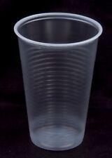 100 Trinkbecher Ausschankbecher Plastikbecher transparent 0,2 Liter 200ml Becher