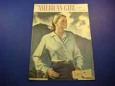 The American Girl Magazine April 1950 30 Trips To Washington Pastels M154