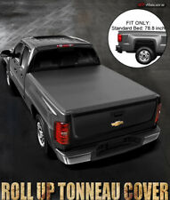 LOCK & ROLL SOFT TONNEAU COVER 2014-2017 CHEVY SILVERADO/GMC SIERRA 6.5 FT BED