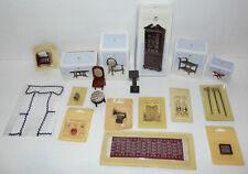 Huge Job-lot Of - Dollhouse Collectors Vintage Furniture Plus Other Bits