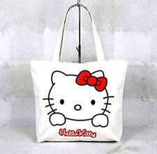 Hello Kitty Pink And White Zipper Bag Handbag Shoulder Tote Bag