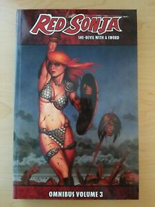 Red Sonja: She-Devil With A Sword Omnibus Vol 3 (Dynamite trade paperback / TPB)