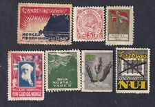 Norway Poster Stamps  GROUP