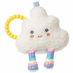 """Mary Meyer E1 Baby Boy or Girl Puffy Cloud Rattle Toy 6"""" 43212"""