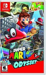 Super Mario Odyssey - Nintendo Switch Brand New Factory Sealed