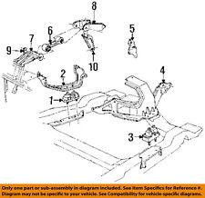 GM OEM Engine Motor Transmission-Strut Bracket 10066638