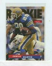 CURTIS MARTIN 1995 Skybox Impact Rookie Card RC  #8 New England Patriots