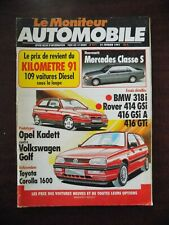 Moniteur automobile n° 971 BMW 318i - Rover 414 & 416 - Toyota Corolla...