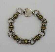 Taxco Sterling Silver Fancy Link Bracelet, TC-212 Mexico 925