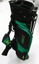 Stix Junior Golf Bag Green And Black Beautiful Clean