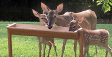 """Qty of 2 HB 36"""" Long Extra Large Free Standing Deer Feeders Packaged in 1 Box"""