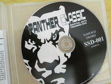 2004 Century Panther Classic Martial Arts Training Dvd Samurai Sword Ssd-001