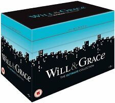 Will And Grace TV Series Complete Seasons 1-8 Ultimate Collection DVD Boxset