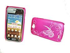 Design .3 Cover Posteriore Guscio Per Cellulare Custodia Rigida Guscio Per Samsung i8150 Galaxy W