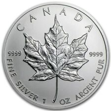 Silver 1 ounce Canadian Maple - 2018 Coin