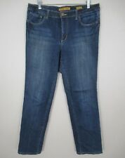 Seven7 Jeans Straight Leg Dark Wash size 14