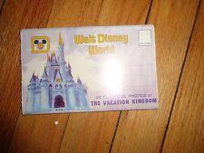 Vintage Walt Disney World Postcard Folder