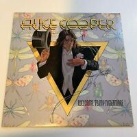Alice Cooper - Welcome to my Nightmare - 1975 Vinyl LP Record (Condition VG)