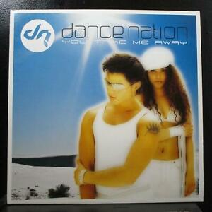 "Dance Nation - You Take Me Away 12"" New 45 RTD103.4118.0 Germany 2003"