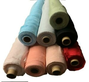 """36"""" Wide Colored Cheesecloth Sold By The Yard 100% Cotton - Premium Grade"""