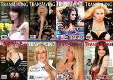 TRANSLIVING TRANSVESTITE CROSS DRESS TRANSGENDER LIFESTYLE MAGAZINE BUMPER PACK