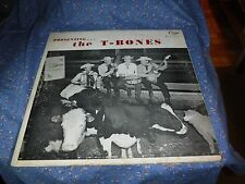 Cuca Record Milwaukee Stockyards Presents the T-Bones  Cover Only No Record