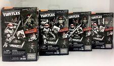 Mega Bloks Ninja Turtles Eastman & Laird's Collector Series Set Of 4