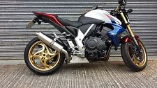 Honda CB1000R 08- Stainless Oval Single Outlet Road Legal Performance Exhaust