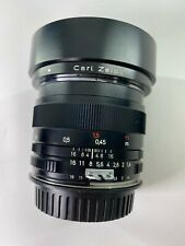 ZEISS Classic ZF 50mm f/1.4 Planar Duclos CineMOD Prime Lens with Canon EF Mount