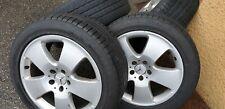 Jantes Mercedes classe S w221 18 pouces avec pneus 255 45 18