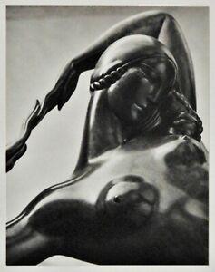 Vintage Gelatin Silver Photo Art Deco Sculpture