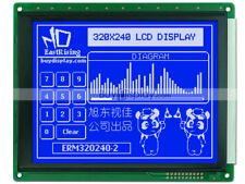57blue 320x240 Graphic Glcd Lcd Module Withra8835 Sed1335optional Touch Panel