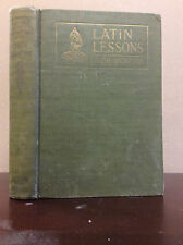SMITH'S LATIN LESSONS By Harold G. Thompson - 1929