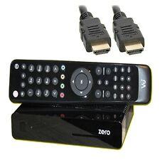 Vu+ ZERO HDTV Receptor De Satélite Negro Linux e2 TV IP Vu Plus 1080p Hdmi Lan +