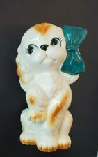Vintage Ceramic Cavalier King Charles Spaniel Dog Figurine Japan