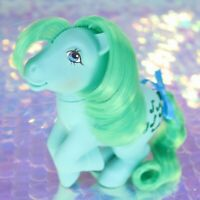 Vintage My Little Pony MEDLEY Teal Green Music Note Pegasus G1 MLP REHAIR BH880