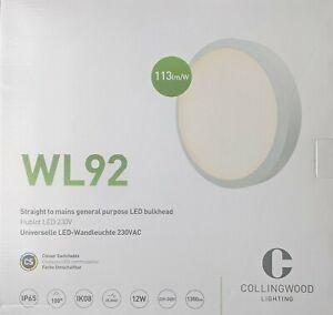 Collingwood Lighting WL9219SCS LED Bulkhead 19W White IP65 Colour Switchable