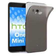 Schutz Hülle für HTC One Mini 2 Case Silikon Handy Cover Anthrazit