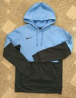 Men's Nike Sportswear Pullover Hoodie Sweatshirt Blue Carolina Large L CI4765