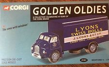"CORGI GOLDEN OLDIES LYONS SWISS ROLLS BEDFORD ""S""  1:50 DIECAST COLLECTABLE"